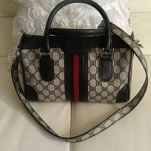 REDUCED~GUCCI~Boston~with Shoulder Strap~Gorgeous!